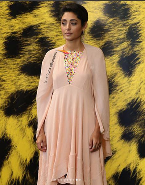 مدل لباس گلشیفته فراهانی Golshifte Farahani از برند کلوئه Chloe در هفتادمين جشنواره فيلم لوكارنو