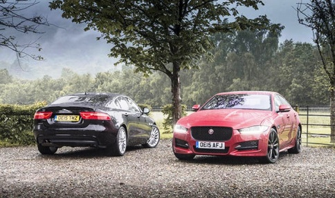 نمای ظاهری جگوار Jaguar XE R-Sport