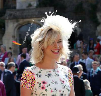 مدل کلاه جاس استون Joss Stone در عروسی مگان مارکل Meghan Markle و پرنس هرس Prince Harry