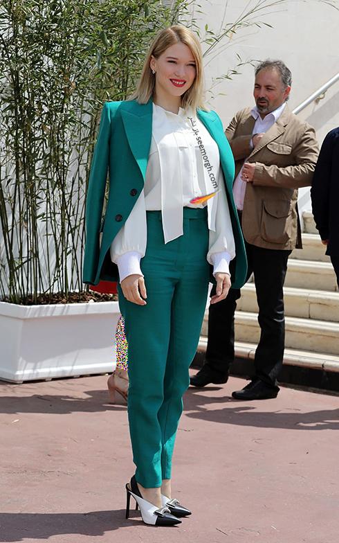 مدل لباس در مراسم قبل از جشنواره کن 2018 Cannes - جری ممبر Jury Member