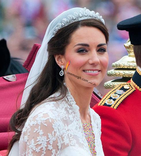 مدل مو کیت میدلتون Kate Middleton برای روز عروسی اش