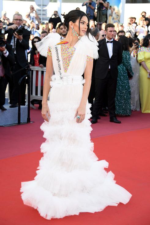مدل لباس در روز پنجم جشنواره کن 2018 Cannes - کندال جنر Kendall Jenner