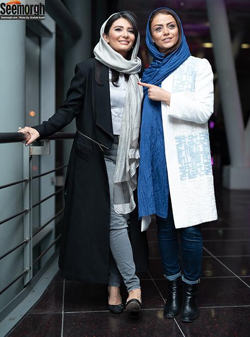 شبنم فرشادجو و لیندا کیانی در اکران خجالت نکش