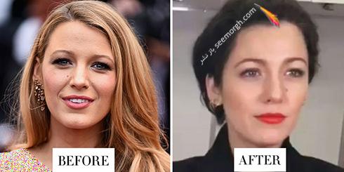 تغییر مدل مو بلیک لایولی Blake Lively برای سال 2018