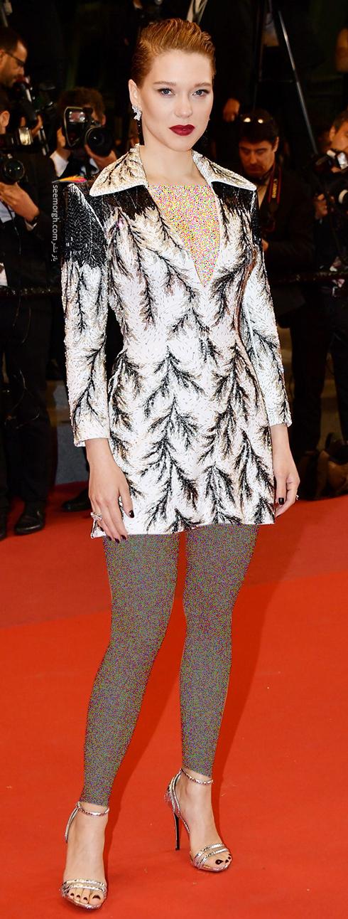 مدل لباس در روز چهارم جشنواره کن 2018 Cannes - لی سیدوکس Lea Seydoux
