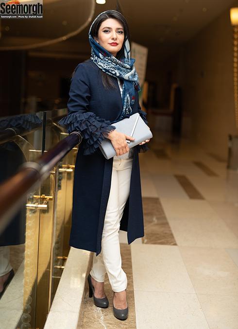لیندا کیانی  در اکران خصوصی چهارراه استانبول