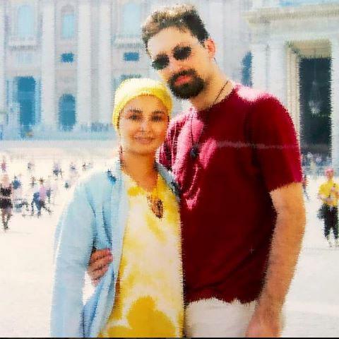 ماهایا پطروسیان و همسر سابقش