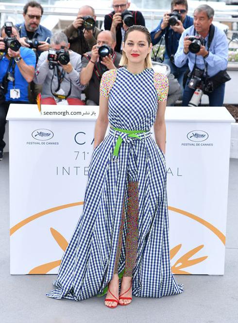 مدل لباس در روز پنجم جشنواره کن 2018 Cannes - ماریون کوتیار Marion Cotillard