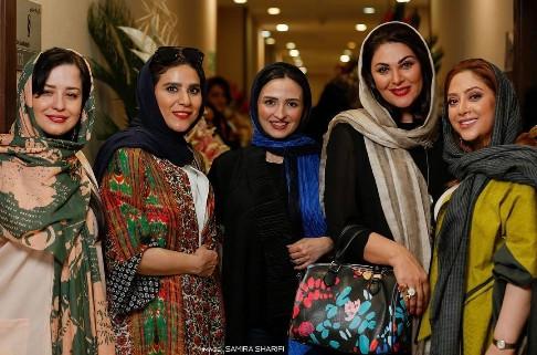 بازیگران زن در سالن زیبایی مریم سلطانی