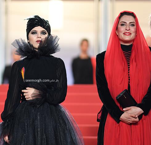 Image result for بهناز جعفري جشنواره كن لباس