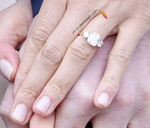 حلقه نامزدی مگان مارکل Meghan Markle و پرنس هری Prance Harry