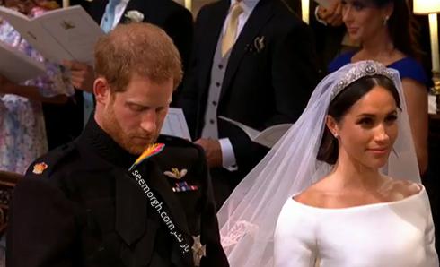 مراسم عقد مگان مارکل Megan Markle و پرنس هري Prince Harry - عکس شماره 3