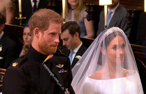 مراسم عقد مگان مارکل Megan Markle و پرنس هري Prince Harry - عکس شماره 2