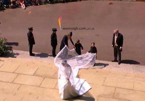 ساقدوش هاي مراسم عروسي مگان مارکل Megan Markle و پرنس هري Prince Harry - عکس شماره 4