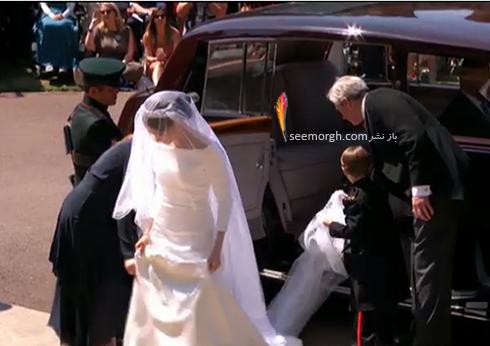 ساقدوش هاي مراسم عروسي مگان مارکل Megan Markle و پرنس هري Prince Harry - عکس شماره 3