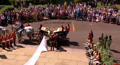 ساقدوش هاي مراسم عروسي مگان مارکل Megan Markle و پرنس هري Prince Harry - عکس شماره 1