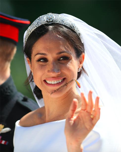 آرایش مگان مارکل Meghan Markle برای روز عروسی اش