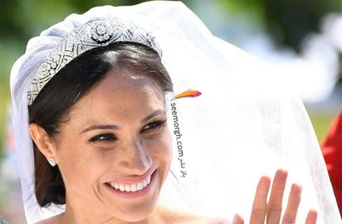 آرایش صورت مگان مارکل Meghan Markle برای روز عروسی اش