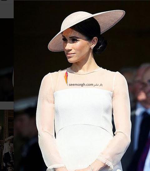 مدل لباس مگان مارکل Meghan Markle در تولد پرنس چارلز از برند گات فشن GoatFation - عکس شماره 2