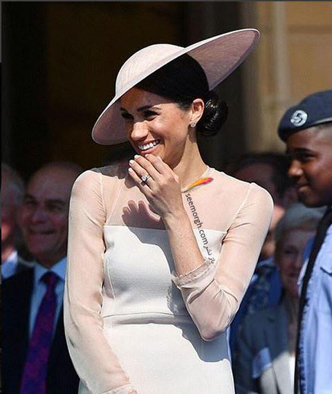 مدل لباس مگان مارکل Meghan Markle در تولد پرنس چارلز از برند گات فشن GoatFation - عکس شماره 4