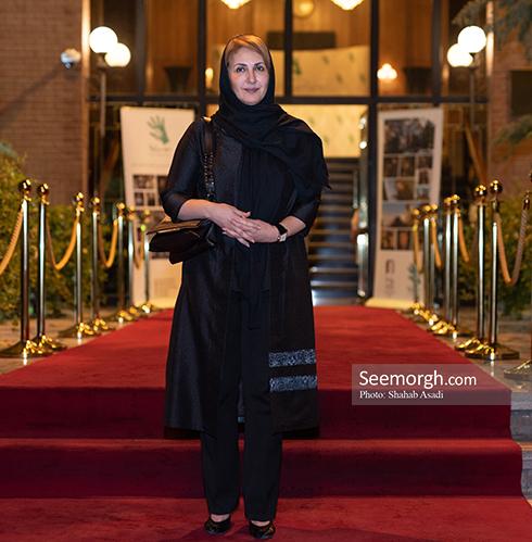فاطمه گودرزی در  ضیافت افطاری خیریه مهر لیلا 2