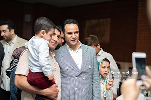 آرش برهانی در ضیافت افطاری خیریه مهر لیلا