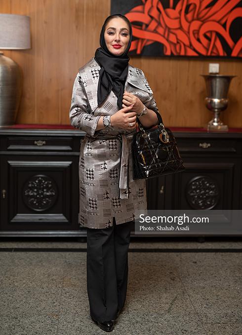 الهام حمیدی در ضیافت افطاری خیریه مهر لیلا