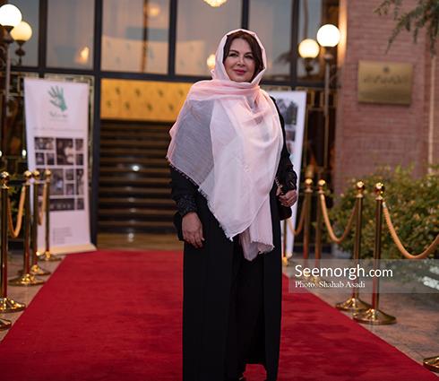 شهره سلطانی در ضیافت افطاری خیریه مهر لیلا