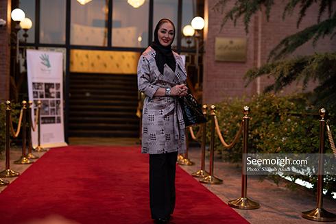 الهام حمیدی در ضیافت افطاری خیریه مهر لیلا 2