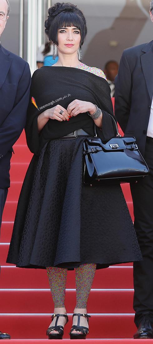 مدل لباس در روز چهارم جشنواره کن 2018 Cannes - میترا فراهانی Mitra Farahani