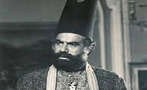 ناصر ملک مطیعی در نقش امیرکبیر