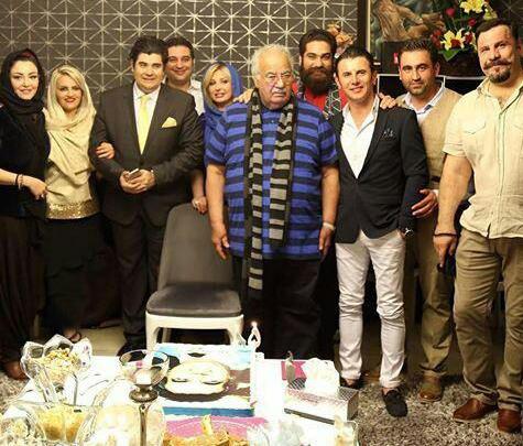 جشن تولد 86 سالگی ناصر ملک مطیعی با حضور هنرمندان