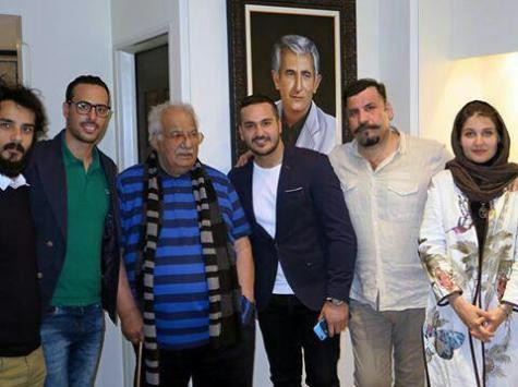جشن تولد ناصر ملک مطیعی