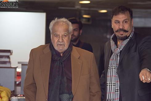 ناصر ملک مطیعی در اکران مردمی اسرافیل