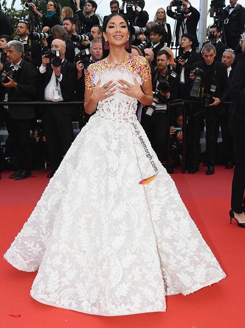 مدل لباس در هفتمین روز جشنواره کن 2018 Cannes - نیکل شرزینگر Nicole Scherzinger