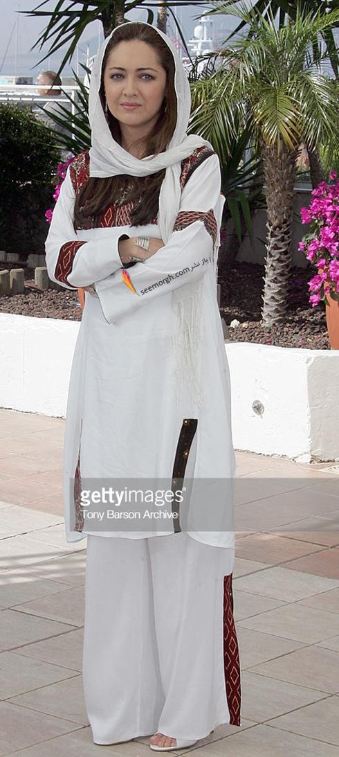 مدل لباس نیکی کریمی در جشنواره کن 2007 Cannes
