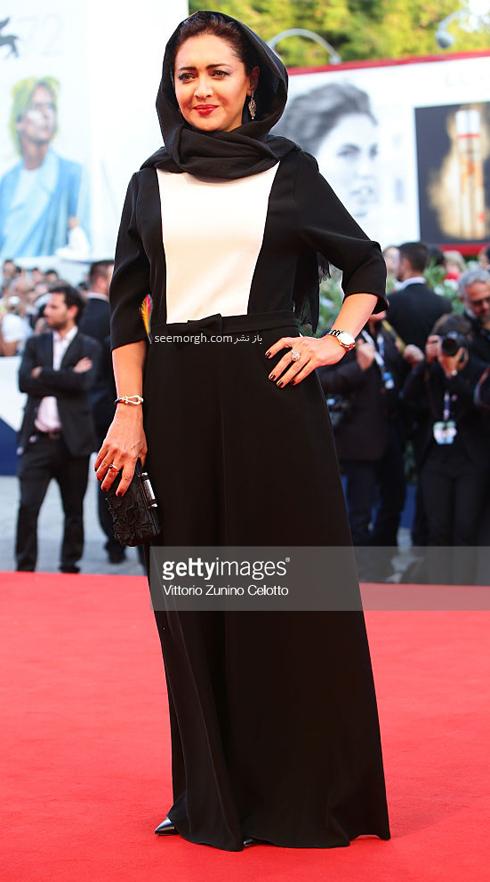 مدل لباس نیکی کریمی در هفتاد و دومین جشنواره فیلم ونیز - عکس شماره 4