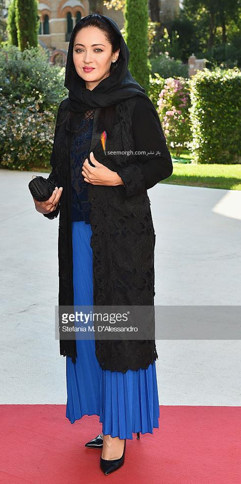 مدل لباس نیکی کریمی در هفتاد و دومین جشنواره فیلم ونیز - عکس شماره 3