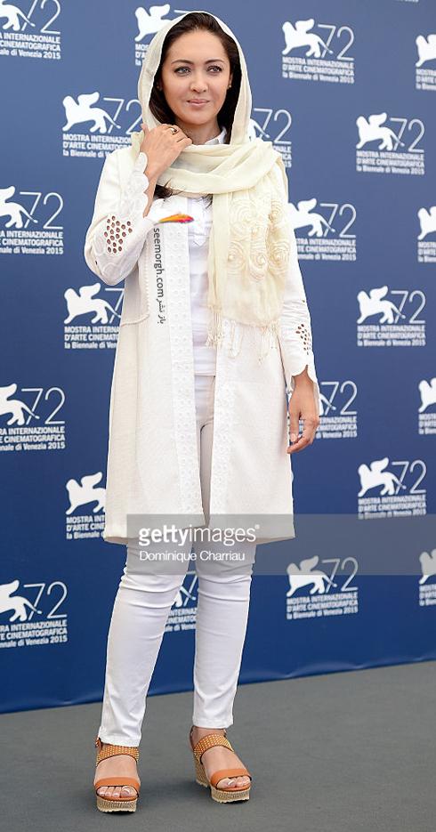 مدل لباس نیکی کریمی در هفتاد و دومین جشنواره فیلم ونیز - عکس شماره 2