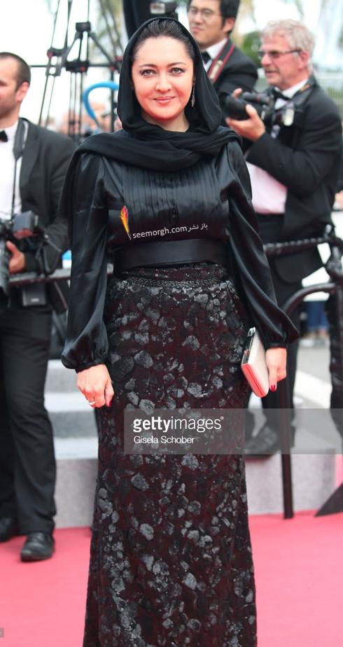 مدل لباس نیکی کریمی در جشنواره کن 2018 Cannes