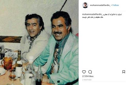 ناصر ملک مطیعی و محمدعلی فردین، دوستاره بی تکرار سینمای ایران