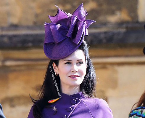 مدل کلاه آنتس اسپنسر ountess Spencer در عروسی مگان مارکل Meghan Markle و پرنس هرس Prince Harry
