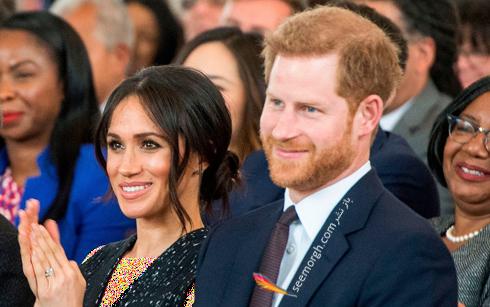 مگان مارکل Meghan Markle و پرنس هری Prince Harry