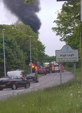 در آتش سوختن اتومبیل جیلوید ساموئل 2