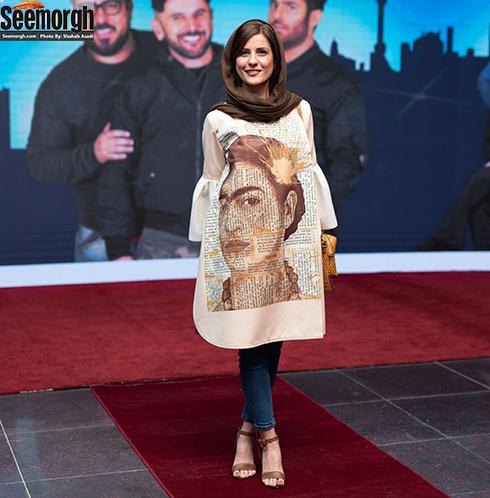 سارا بهرامی در جشن ساخت ایران 2