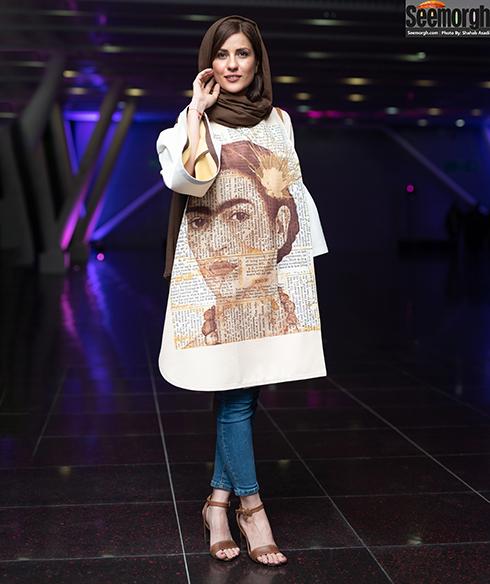 عکس سارا بهرامی در جشن ساخت ایران 2