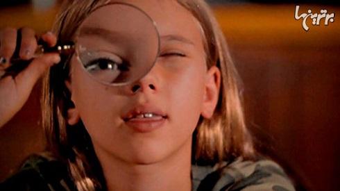 اسکارلت جوهانسون در دوران نوجوانی