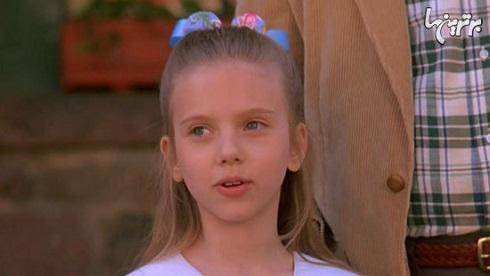 اسکارلت جوهانسون در دوران کودکی