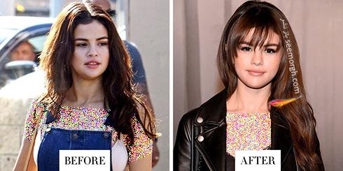 تغییر مدل مو سلنا گومز Selena Gomez برای سال 2018