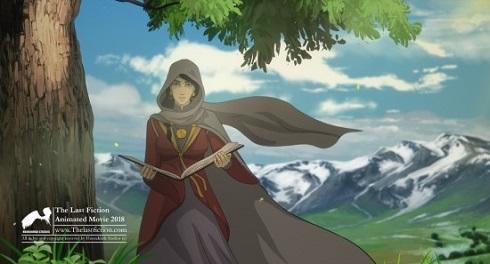 کاراکتر شهرزاد با صدای لیلا حاتمی در انیمیشن آخرین داستان